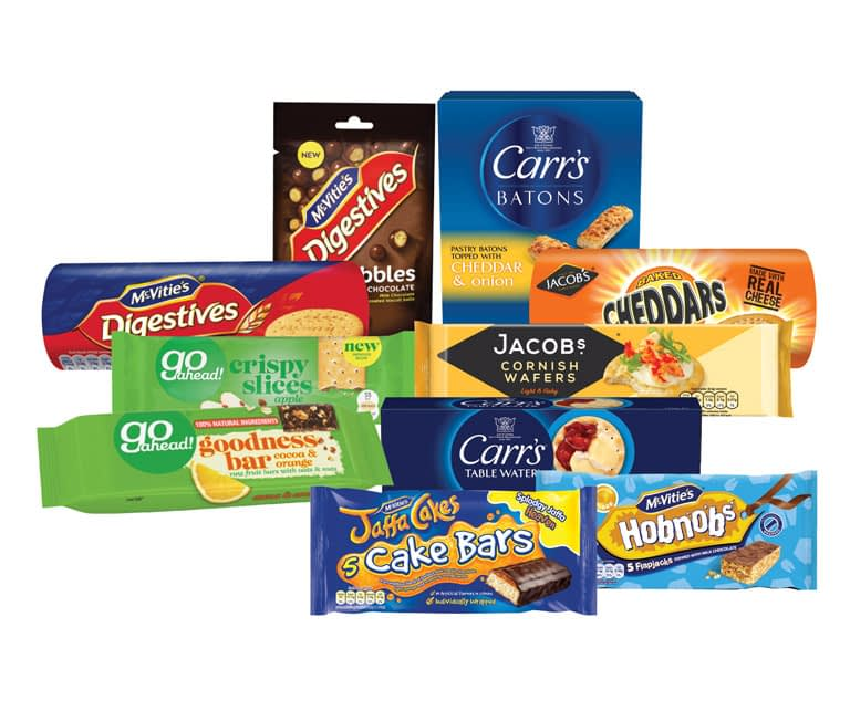 Recycling in Lancing-Mcvities-wrappers